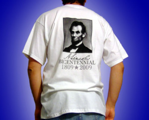 ... lincoln apparel abraham lincoln bicentennial equality t shirt abraham