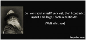 Walt Whitman Quotes...