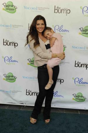 Lisa Loeb, Ali Landry attend Pregnancy Awareness kick-off event