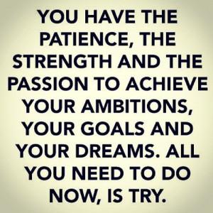 Saturday Morning Motivation