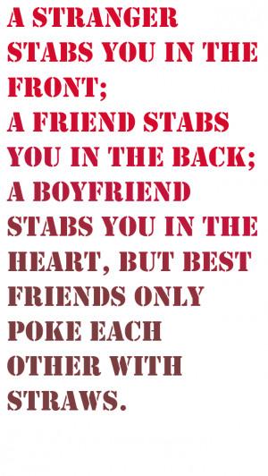 Stranger Friend Quotes