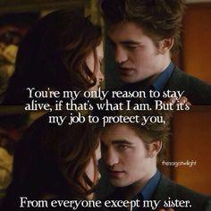 Twilight Saga:New Moon ~ Bella Swan (Kristen Stewart) and Edward ...