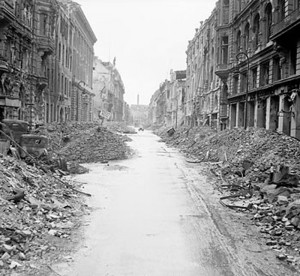 When Patton saw how much destruction had been wrought on Germany, and ...