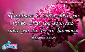 Happiness Quotations in English Language