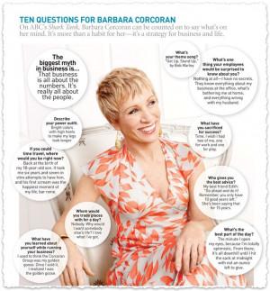 Barbara Corcoran Quotes Barbara corcoran quotes: 10