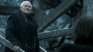 My mom on Maester Aemon's position at Castle Black:Okay, I was ...