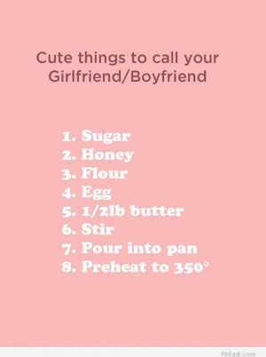 cute things to say to your girlfriend quotes