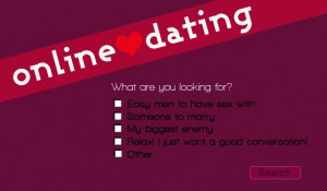 Online dating websites are starting to offer more options, especially ...