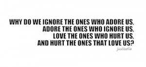 Falling for the wrong people Quote