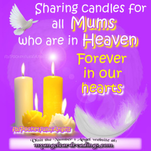 , mother, mothers day, flowers, quotes, heaven, candles, image quotes ...