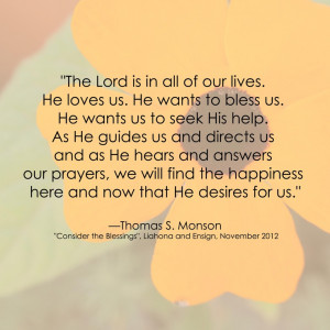 Lds Quotes On Happiness