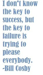 Bill Cosby Quote about Success