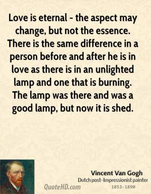 van gogh quotes about love quotesgram
