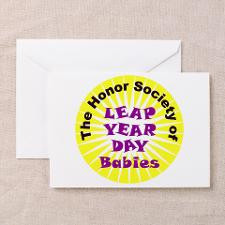 Leap Year Day Awareness Greeting Card