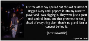More Krist Novoselic Quotes