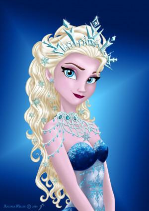 Elsa and Anna club (frozen) queen elsa