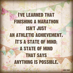 ... looking for inspirational quotes before I sign up for marathon #2