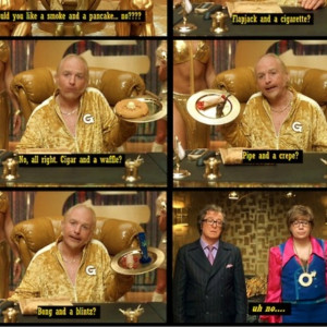 ... > Gallery For > Austin Powers Goldmember Quotes Smoke And A Pancake