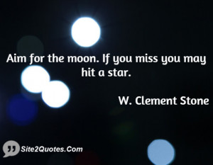 Motivational Quotes - W. Clement Stone
