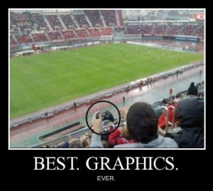 Funny photos funny video game control soccer field