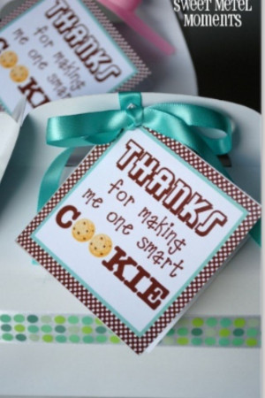 Appreciation, Teachers Gift, Teachers Appreciation, Gift Ideas, Cute ...