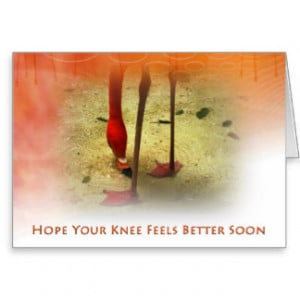 get well soon messages after knee surgery