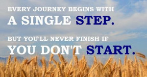 You Can't Finish What You Don't Start | BeLiteWeight | Weight Loss ...