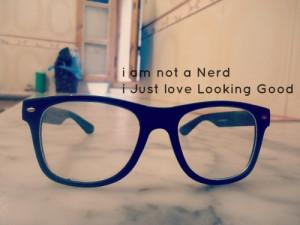 Nerd Glasses Tumblr This image include: nerd,