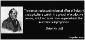 The concentration and reciprocal effect of industry and agriculture ...