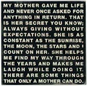 Love my mom!