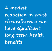 The benefits of modest weight and waist reduction High-risk fat is the ...