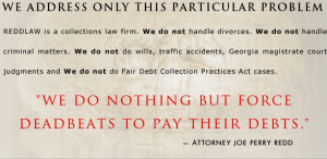 ... But Force Deadbeats to Pay Their Debts.