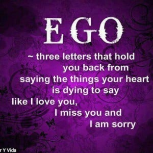 Screw Ego, go with the Super-Ego