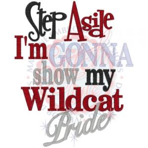 School Pride Sayings Sayings (4281) step aside