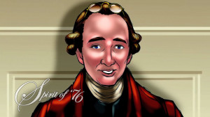 Patrick Henry as he appears debating the Constitution in Mike Church's ...