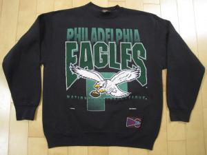 SUPER!! 1992 vintage PHILADELPHIA EAGLES sweat shirt NFL football ...
