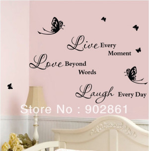 ... -Butterflies-Removable-Wall-Art-Quotes-Vinyl-Decal-Stickers-Home.jpg