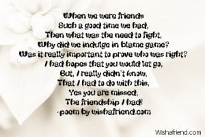 essay about broken friendships