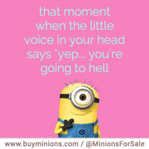 minions-quote-going-to-hell