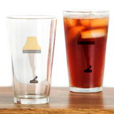 Leg Lamp, A Christmas Story Drinking Glass for