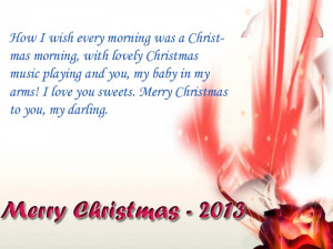 Christmas greeting for girl friend