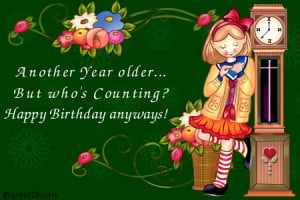Another Year Older