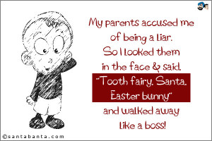 My Parents Accused Me of Being a Liar