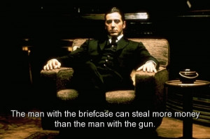 movie, the godfather, quotes, sayings, money, meaningful ...