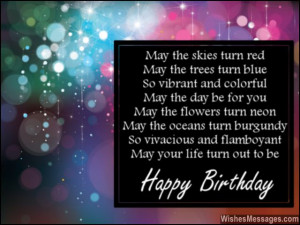 60th Birthday Poems
