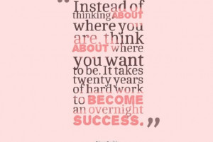hump day quotes 20 years to become an overnight success