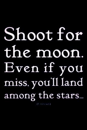 Landing in the stars