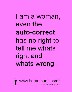 Funny Pic I AM Woman Quotes