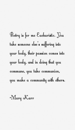 Mary Karr Quotes & Sayings