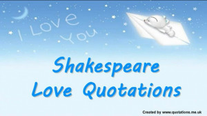 ... Forbidden Love And Romance: I Love You And This Is Shakespeare Love